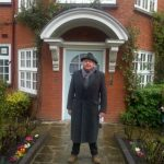 Robert Moss, Founder of Active Dreaming, at the Freud Museum in Hampstead, London